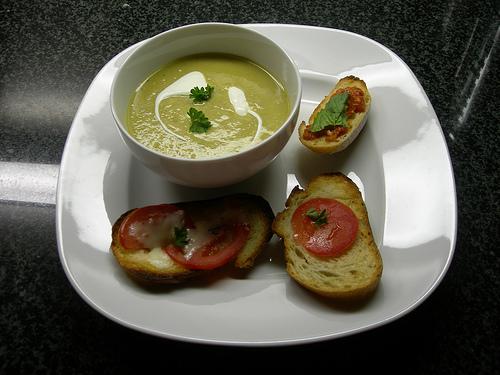 Σούπα με πράσο