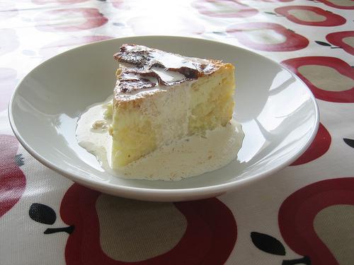 semifrento with rice pudding