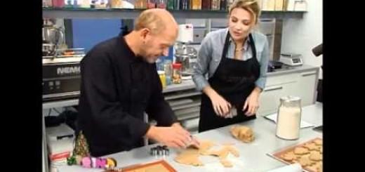 Παρλιάρος-Σκορδά φτιάχνουν Χριστουγεννιάτικα μπισκότα