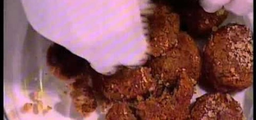 Εκμέκ με μελομακάρονα