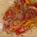 Γαρίδες με χαρουπόμελο