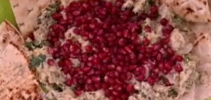 Μελιτζανοσαλάτα με ταχίνι