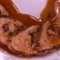 Ψαρονέφρι γεμιστό με μήλο