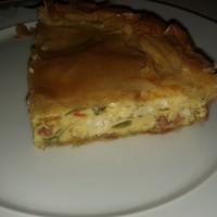 Προτότυπη τυλιγμένη ομελέτα σε φύλλα κρούστας – αλά πίτα